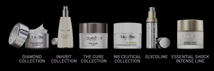 Natura Bissé collections, cosmetics