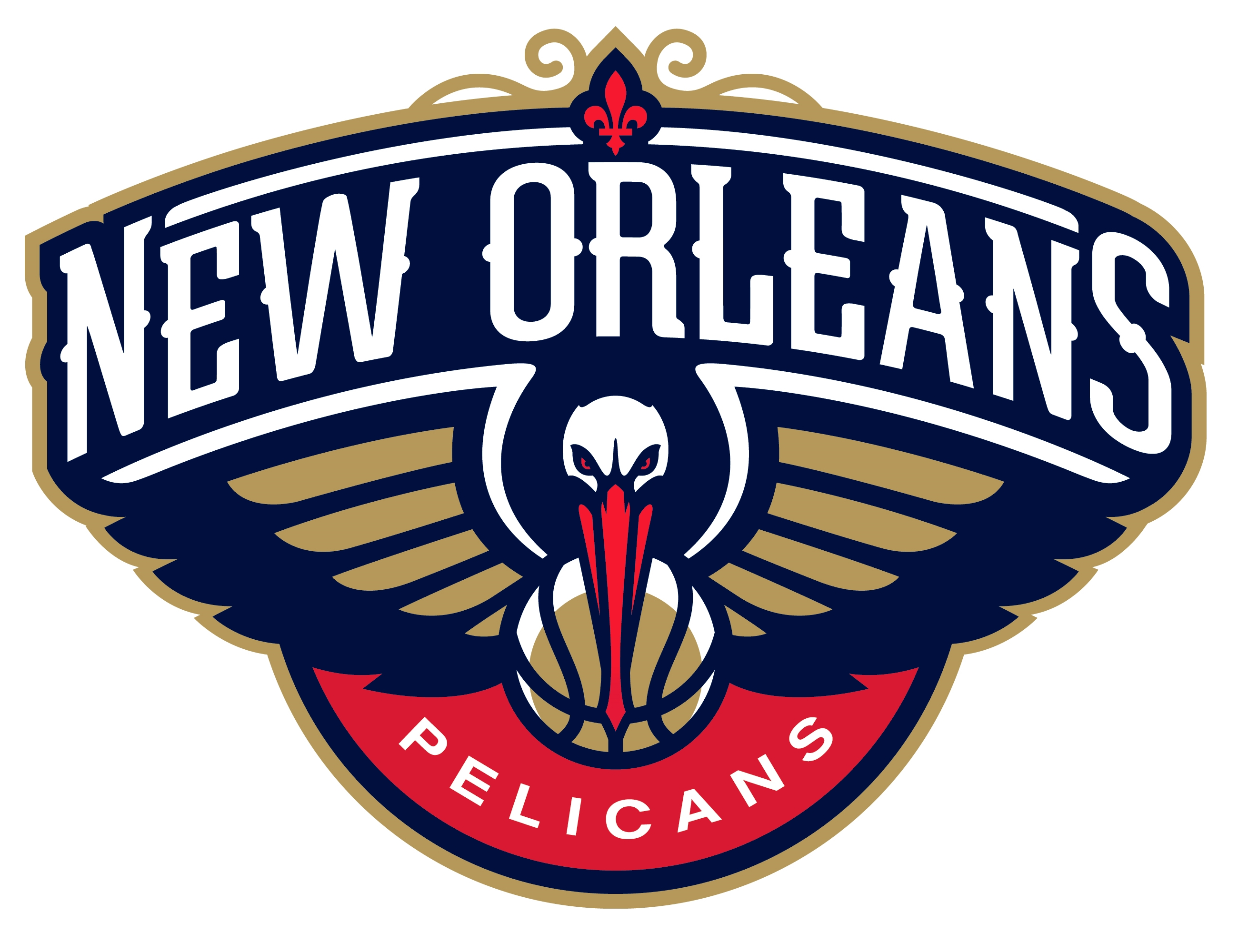 New Orleans Pelicans logo, logotype, emblem