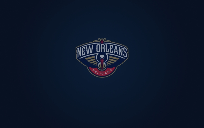 New Orleans Pelicans wallpaper and logo 1920x1200, widescreen