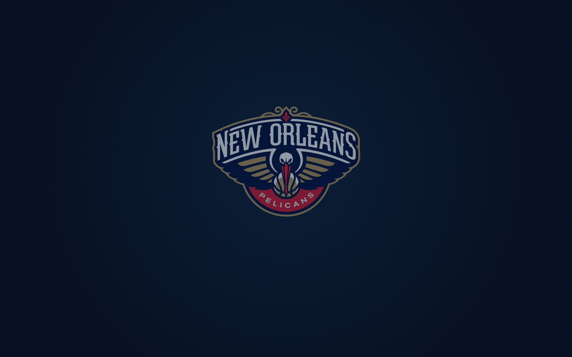 New Orleans Pelicans Wallpaper And Logo 1920 1200