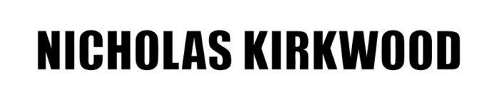 Nicholas Kirkwood logo, black
