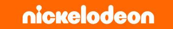 Nickelodeon logotype, orange background