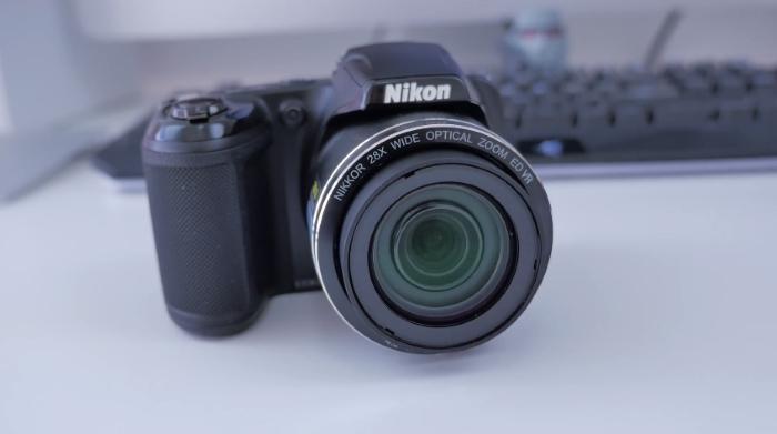 Nikon Coolpix L340 black compact digital camera