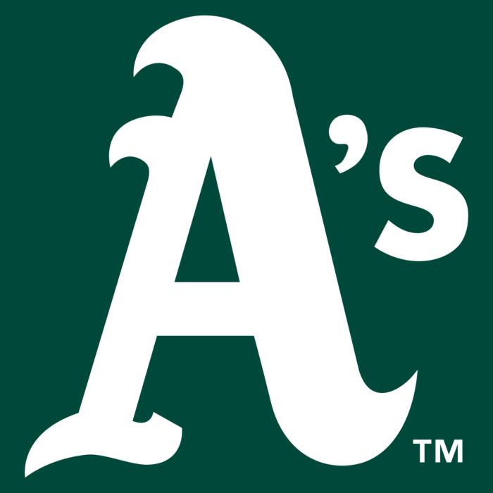 Oakland Athletics logo, cap, insignia