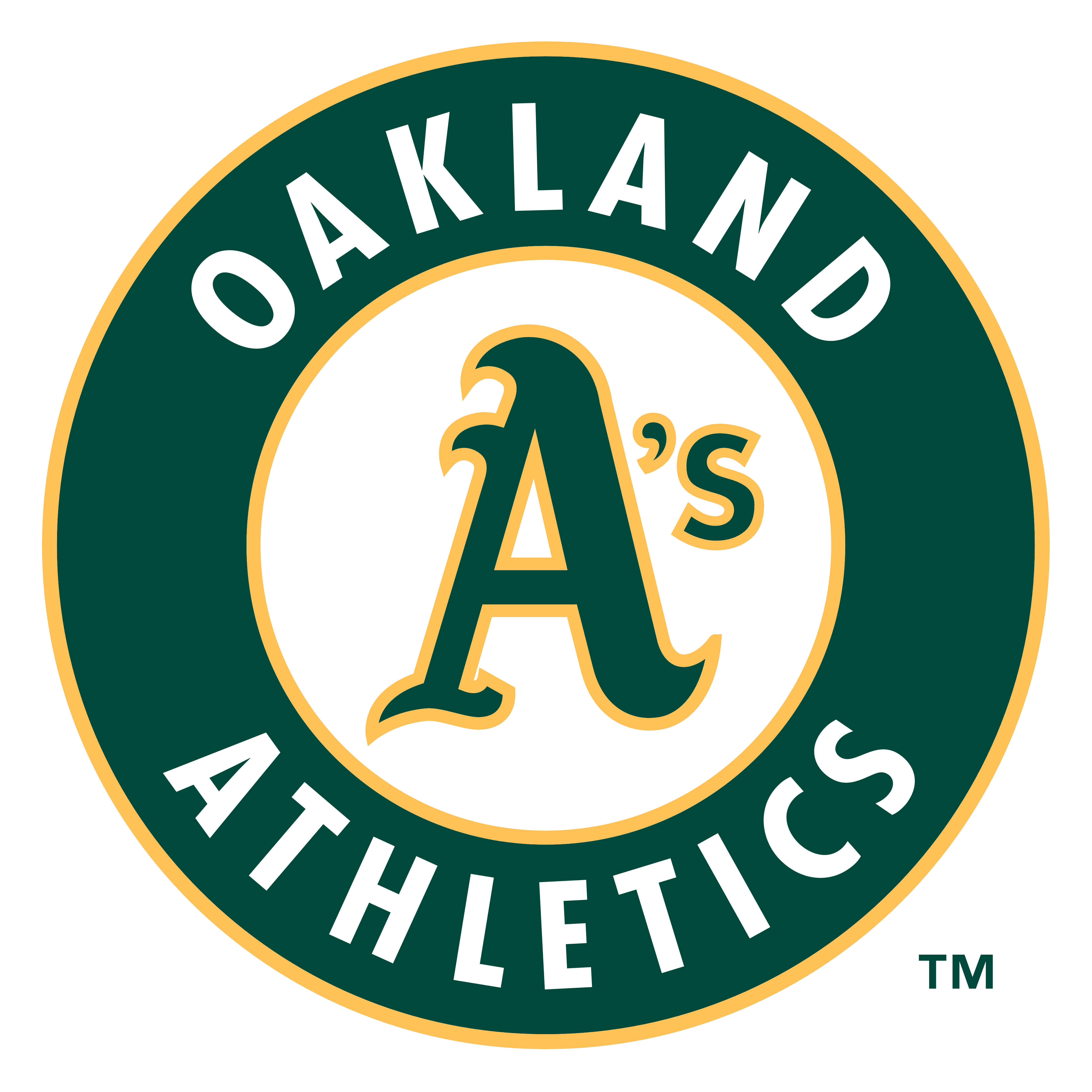 Oakland Athletics – Logos Download