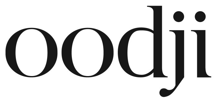 Oodji logo, wordmark