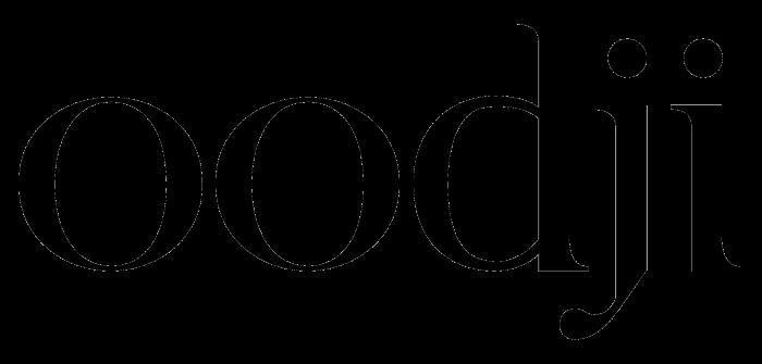 Oodji logotype, full black