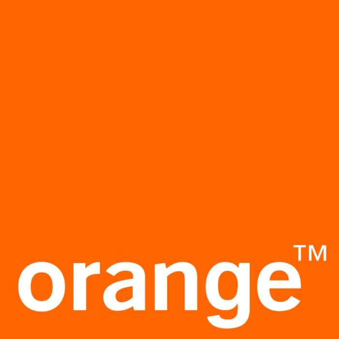 Orange logo, logotype