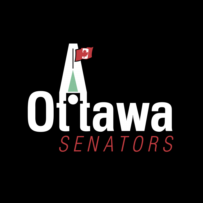 Ottawa Senators logo black