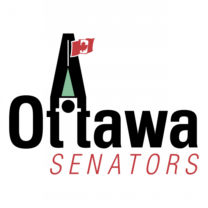Ottawa Senators logo flag