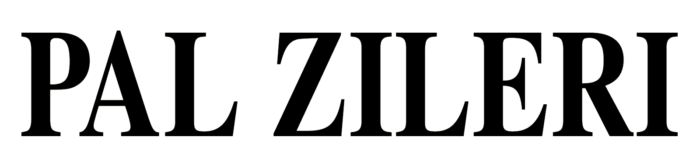 Pal Zileri logo, wordmark