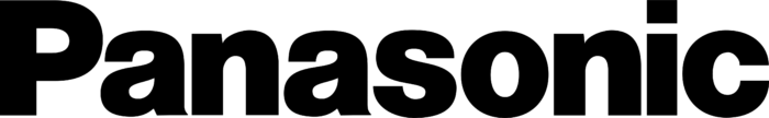 Panasonic logo, black