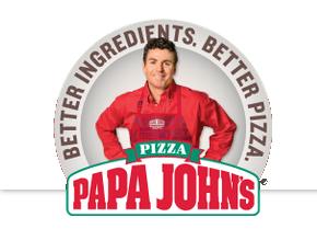 Papa Johns logotype, emblem