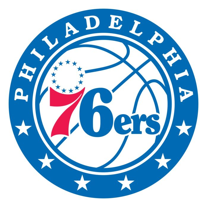 Philadelphia 76ers logo, logotype, emblem