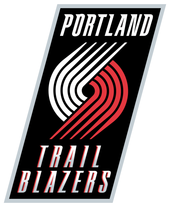 Portland Trail Blazers logo, emblem, brighter version