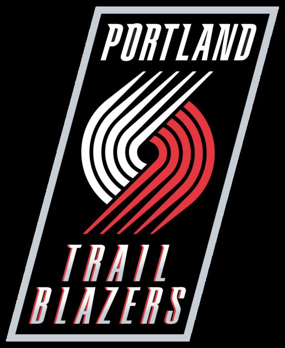 Portland Trail Blazers logo, emblem, brighter version