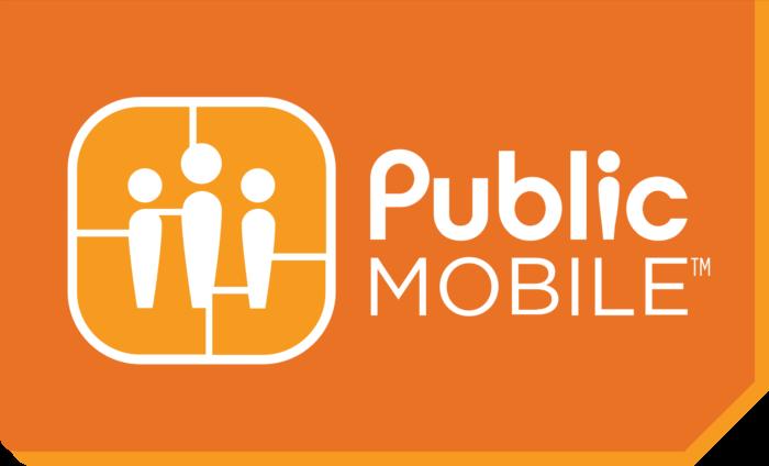 Public Mobile logo, logotype, emblem