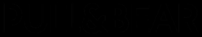 Pull&Bear logo, wordmark, logotype