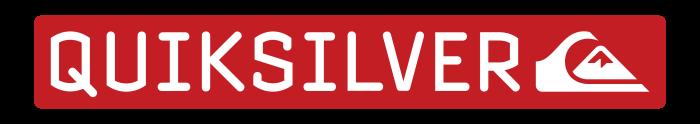 Quiksilver logo, emblem, symbol, red logotype