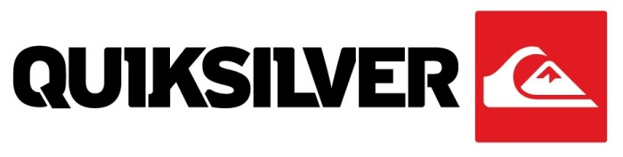 Quiksilver wordmark and symbol