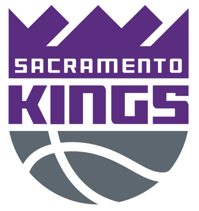 Sacramento Kings logo, white bg