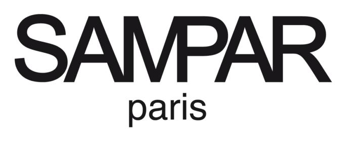Sampar logo, logotype, wordmark