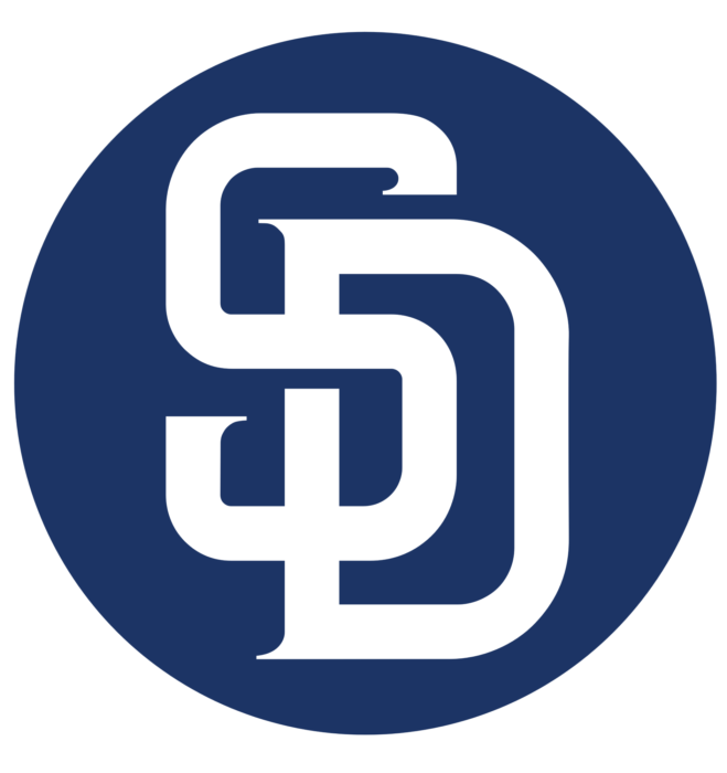 San Diego Padres logo, logotype, alternate