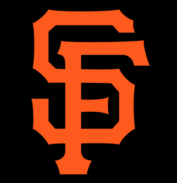 San Francisco Giants cap insignia, logo