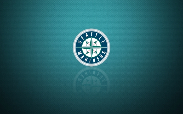Seattle Mariners wallpaper with team logo, HD and widescreen, 1920x1200 px, 16x10