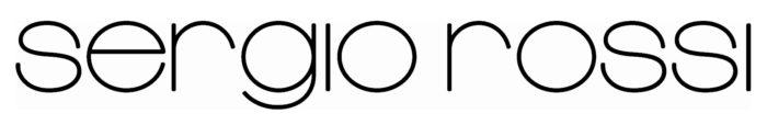 Sergio Rossi logo, black