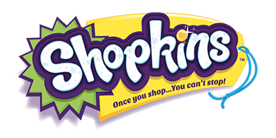 Shopkins logo, logotype