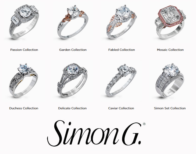 Simon G Jewelry - engagement rings
