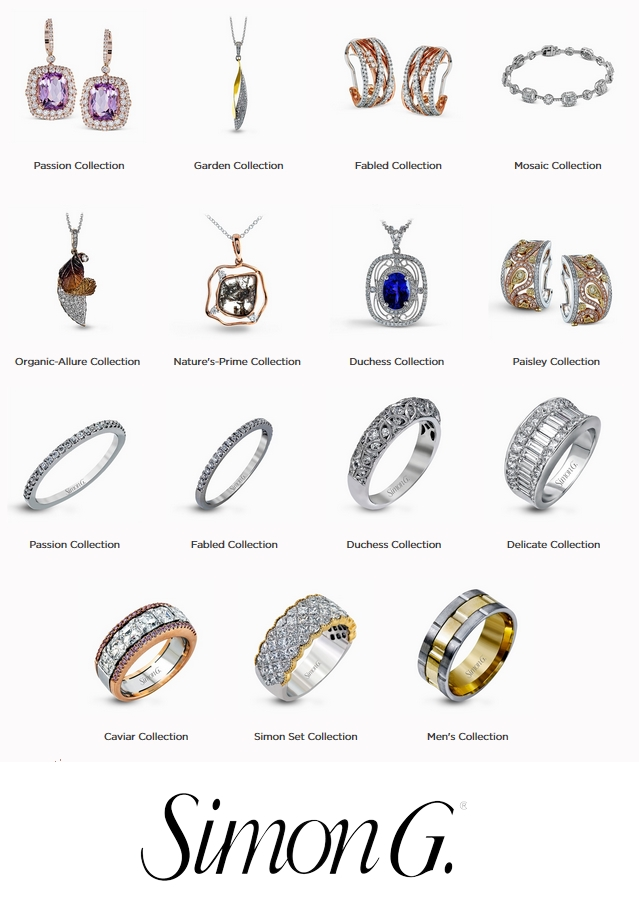 Simon G Jewelry rings and other jewelry