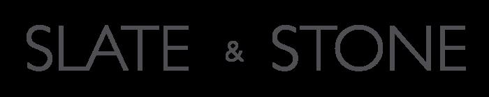 Slate & Stone logo, wordmark