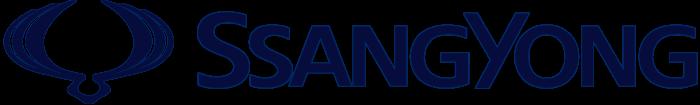SsangYong symbol, emblem, logo, horizontal