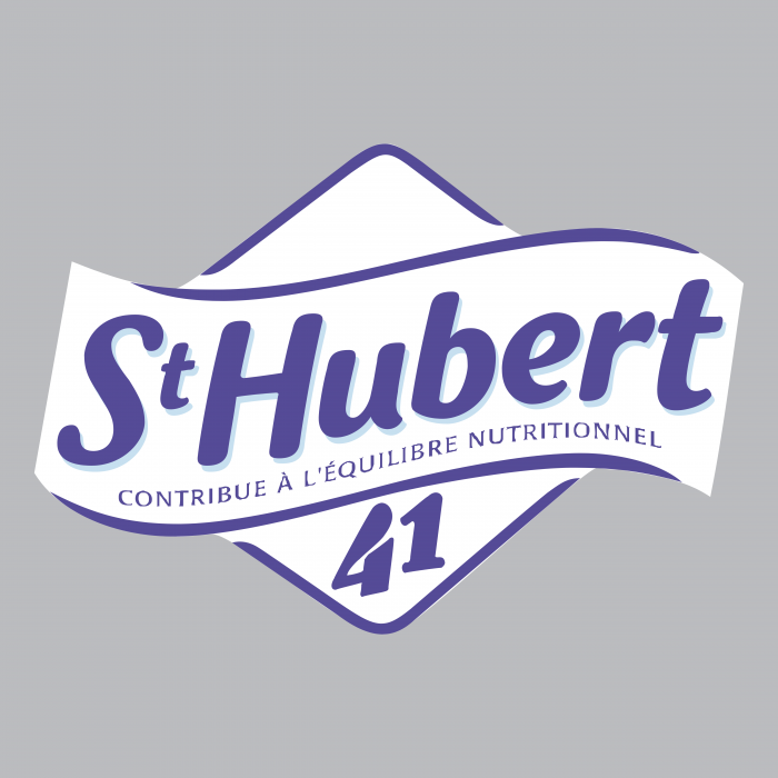 St Hubert logo grey