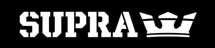 Supra logo, black