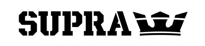Supra logo, logotype, emblem (footwear company)