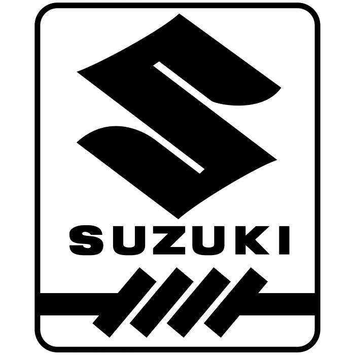 Suzuki logo black