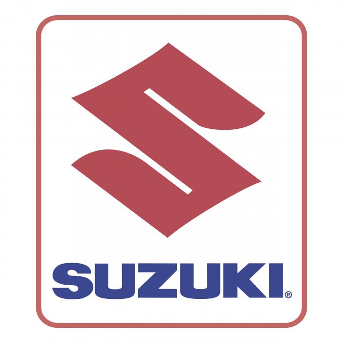 Suzuki logo red