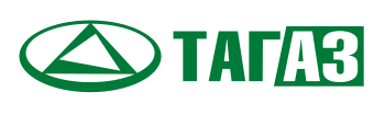 Tagaz (Тагаз) logo, logotype, symbol