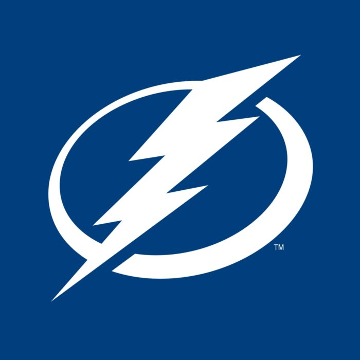 Tampa Bay Lightning logo, blue