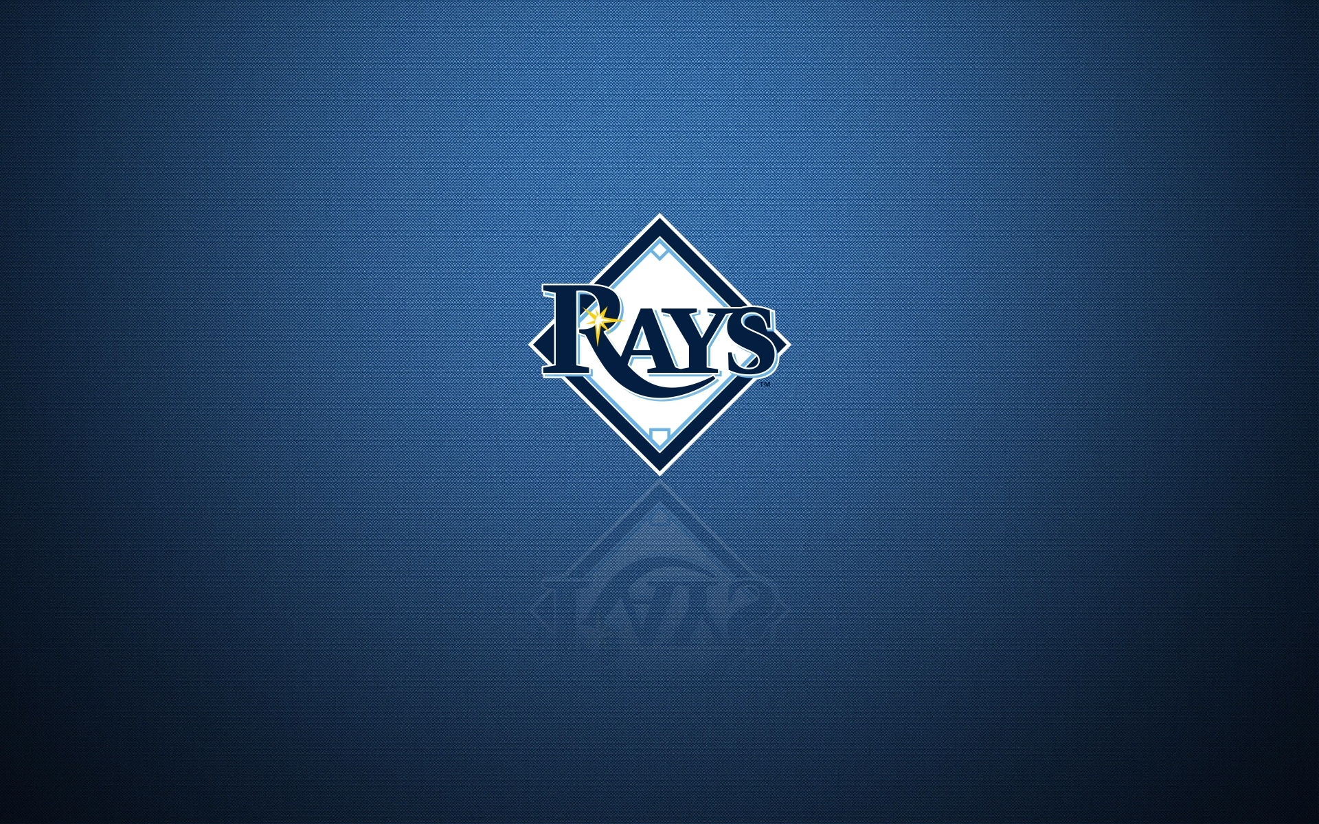Tampa Bay Rays Desktop Wallpaper With Team Logo Widescreen 1920