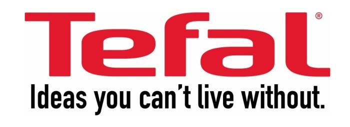 Tefal logotype and slogan