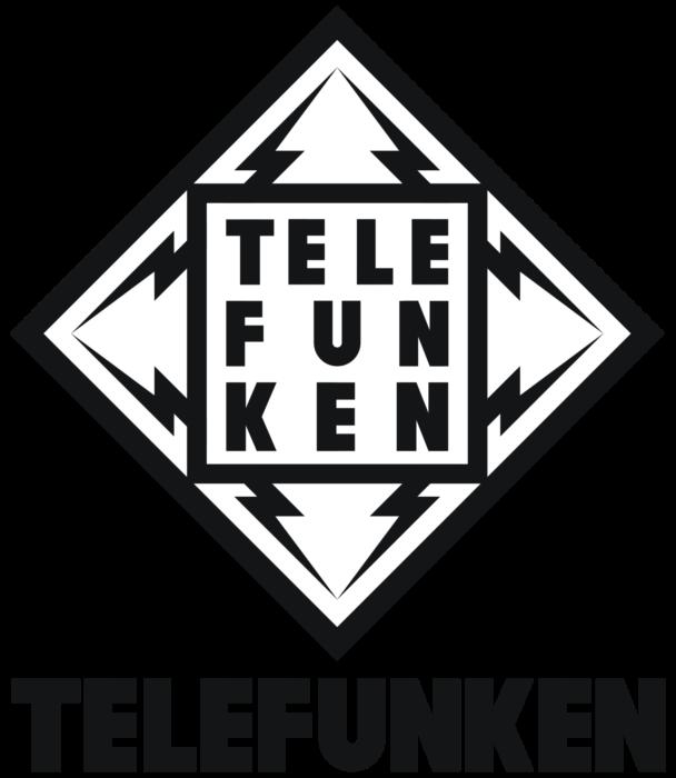 Telefunken logotype, black