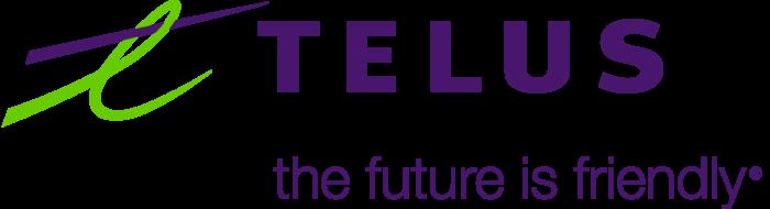 Telus logo, logotype