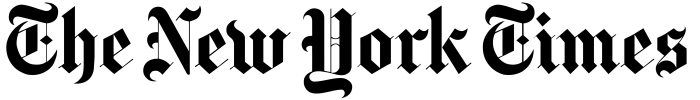 The New York Times logo, wordmark