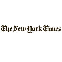 The New York Times logo, wordmark
