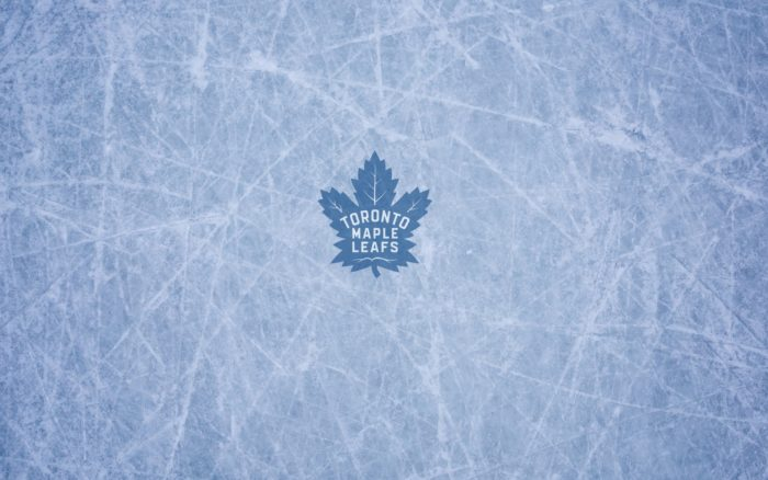 Toronto Maple Leafs wallpaper with ice and logo, 1920x1200