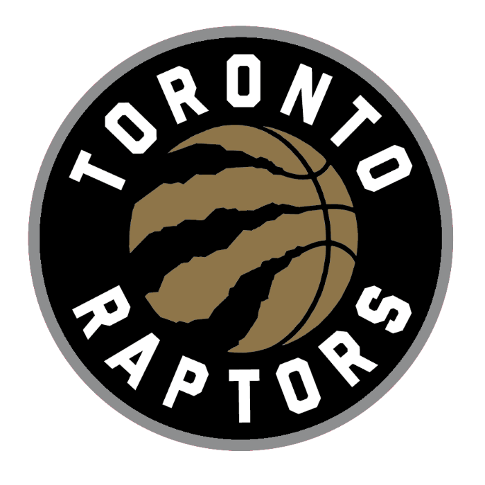 Toronto Raptors logo, logotype, dark version